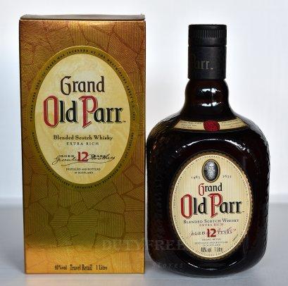 Old Parr 12 Year Old 1Liter