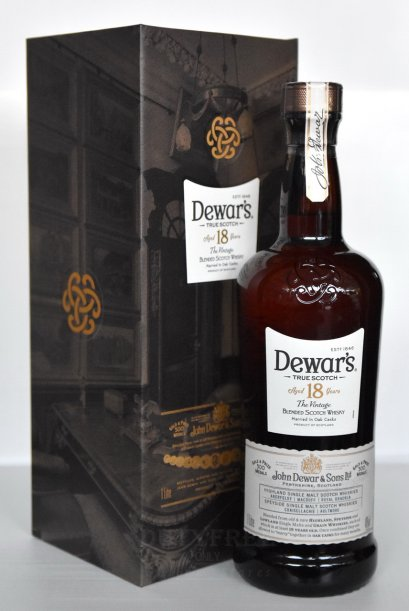 ลัง 6 ขวด Dewar's 18 Year Old The Vintage 1Liter