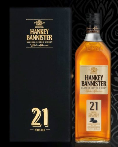 Hankey Bannister 21 years old 70cl.