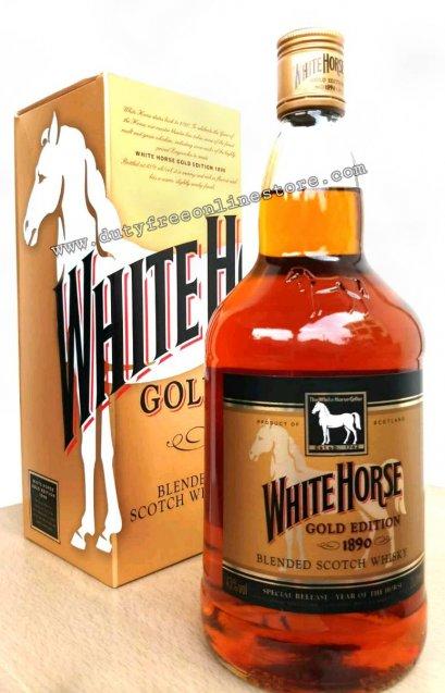 ลัง 12 ขวด White Horse Gold Edition 1Liter