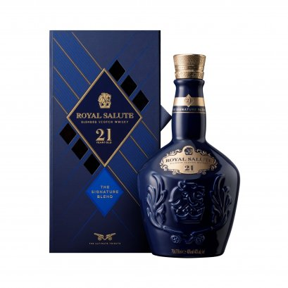 ลัง 6 ขวด Chivas Regal Royal Salute 21 Years The Signature Blend 75cl.
