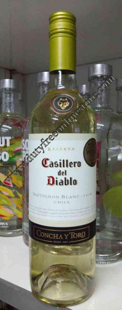 ลัง 12 ขวด Casillero Del Diablo Sauvignon Blanc 2016