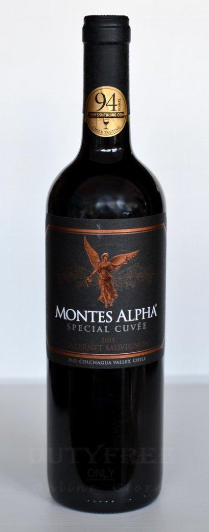 ลัง 12 ขวด Montes Alpha Special Cuvee Cabernet Sauvignon 2015
