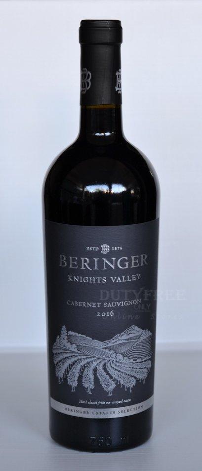 ลัง 12 ขวด Beringer Knights Valley Cabernet Sauvignon 2016