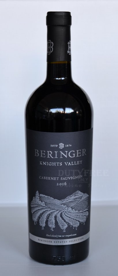 ลัง 12 ขวด Beringer Knights Valley Cabernet Sauvignon 2017