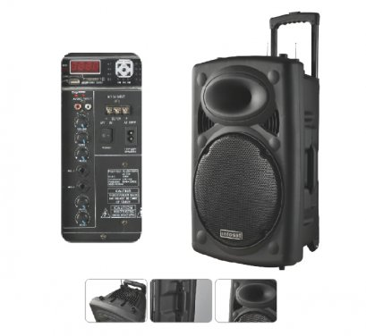 Multi-functional mobile battery speakers 12""