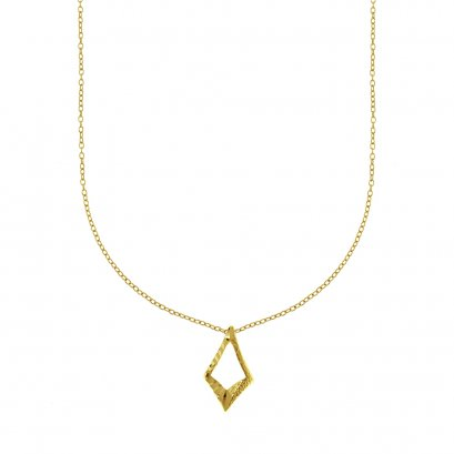 Sunlight Mirror Gold Plated Necklace