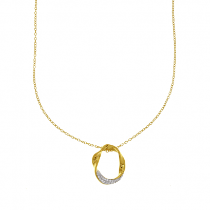 Mellow Flow Gold Plated Necklace