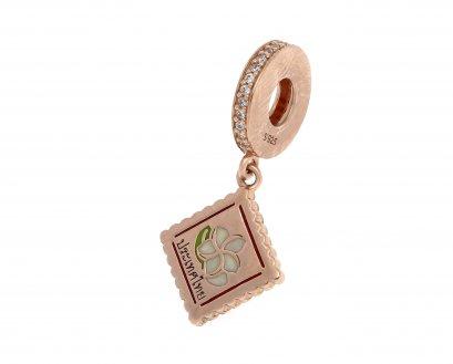 Jasmine Stamp Charm