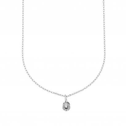 Glowing WhiteStar dust Necklace