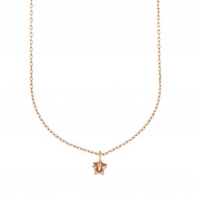 Sparkling WhiteStar dust Necklace