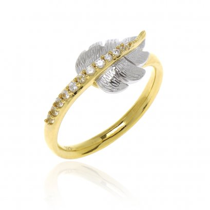 Gloden Leaf Ring