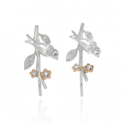 Garden Bird Earrings