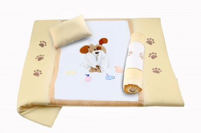 Bedding set 3 pcs- Puppy styles