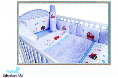 Bedding Crib Set Motor Show Design