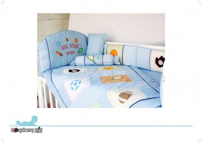Bedding Set 5 pcs. - Sport Designs
