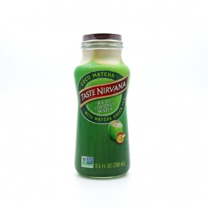 Coconut Water with Matcha Green Tea