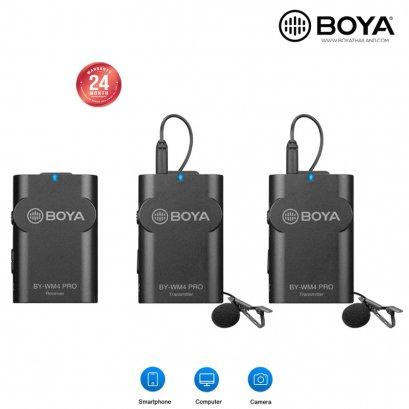 BOYA BY-WM4 PRO K2 Dual Wireless Microphone