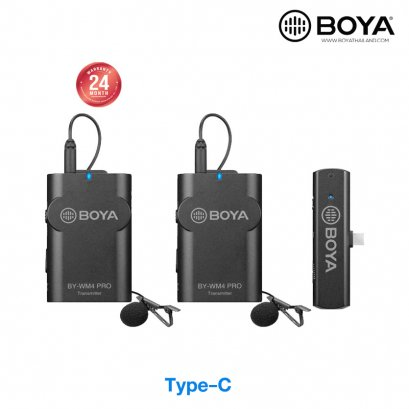 BOYA BY-WM4 PRO K6 Wireless Microphone  Type-C