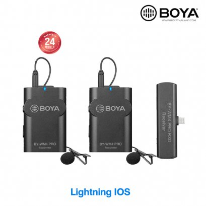 BOYA by-WM4 PRO-K4 Wireless Microphone