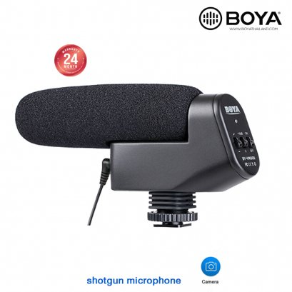 Boya BY-VM600 shotgun microphone