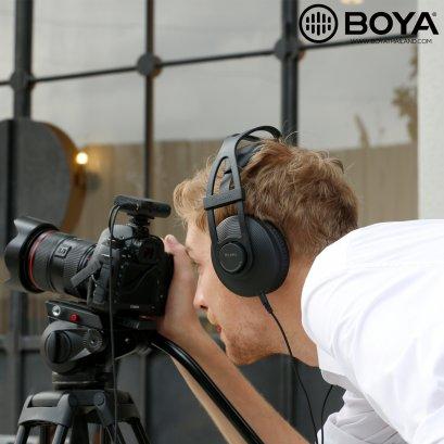 Boya BY-HP2 Professional Monitoring Headset