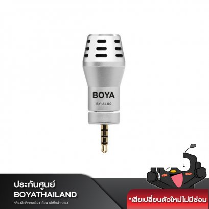 BOYA BY-A100 Condenser Microphone for iphone /ipad silver