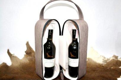 กระเป๋าไวน์คู่ / Double Wine Bag
