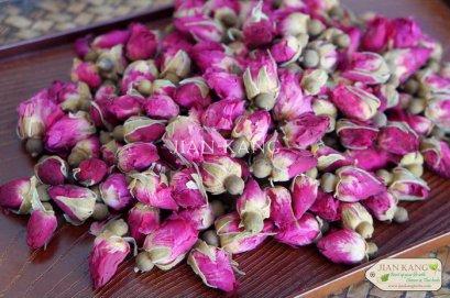 ชาดอกกุหลาบ หรือ ชากุหลาบ (Rose Bud Tea)