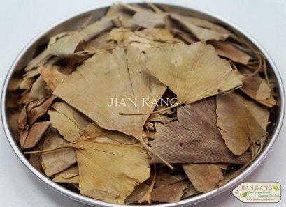ใบแปะก๊วย (Ginkgo Leaves)