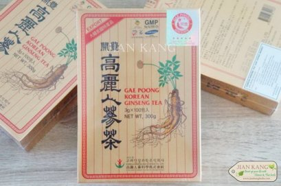 เครื่องดื่มโสม เกปุง โสมเกาหลี ชาโสมเกาหลี GAE POONG KOREAN GINSENG TEA
