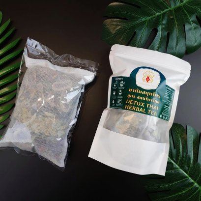 ชาต้มสมุนไพร สูตร สมุนไพรไทย Detox Thai Herbal Tea