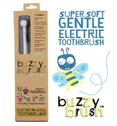 Jack N' Jill Buzzy Brush Musical Electric Toothbrush