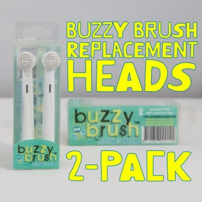 Jack N' Jill Buzzy Brush Replacement Heads (2pk)