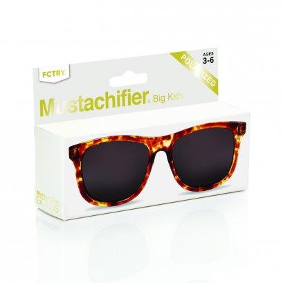 Mustachifier Tortoise Sunglasses แว่นกันแดดลายกระ
