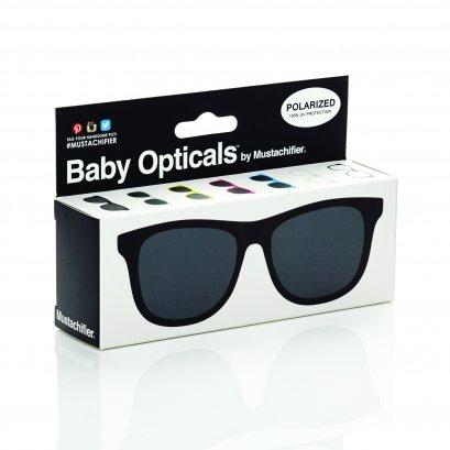 Mustachifier Black Sunglasses  แว่นกันแดดสีดำ