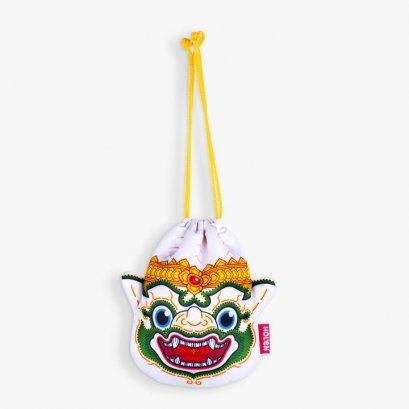 Ramakien Rope Pouch - Hanuman