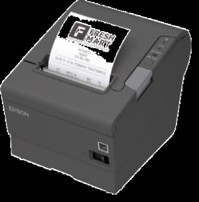 Epson TM-T88V Thermal Receipt Printer(USB/Serial/PS180 Power Supply)