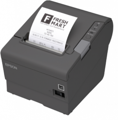 Epson TM-T88V Thermal Receipt Printer(USB/Serial/PS180 Power Supply)