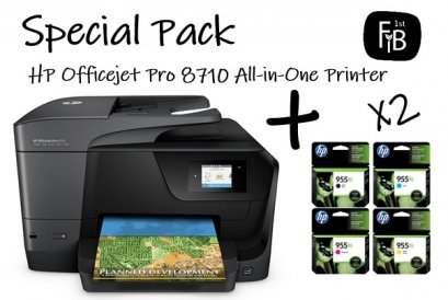 HP Officejet Pro 8710 All-in-One Printer+Ink