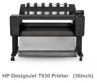 HP DesignJet T930   36in PS Printer