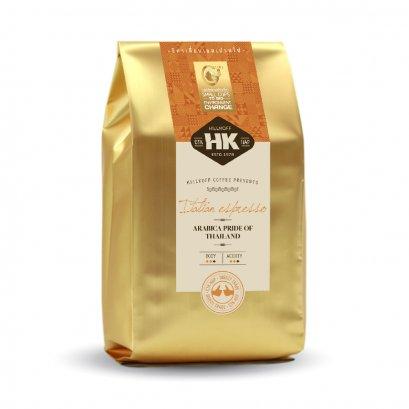Italian Espresso Roast : กาแฟอราบิก้าแท้ 100% คั่วกลาง ตรา ฮิลล์คอฟฟ์ (Italian Espresso Roast) 500 กรัม