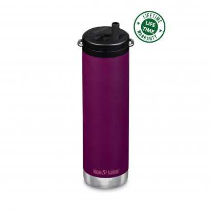 Klean Kanteen 20 oz.Insulated with Twist Cap Purple Potion