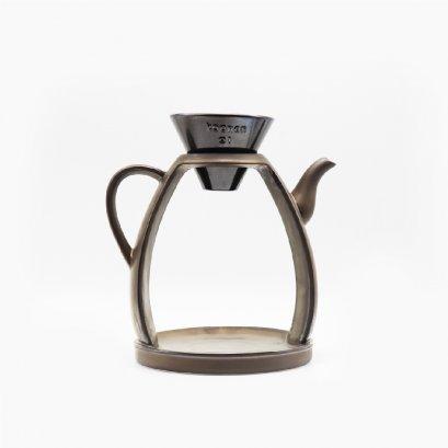 Koonan KN-5984 Brown Ceramic Coffee Brewing Rack
