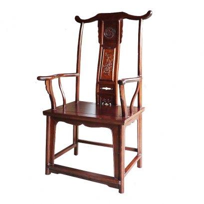 เก้าอี้จีนทรงหมวกขุนนาง(ใหญ่)