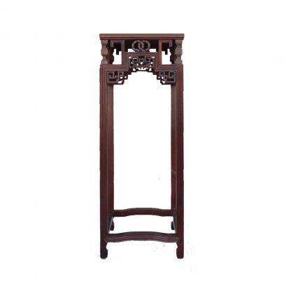โต๊ะวางแจกันลายเหรียญคู่(ใหญ่) สูง 110 ซม.