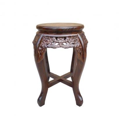 โต๊ะวางแจกันขาโค้งสูง 45 ซม.