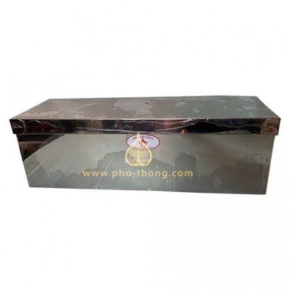 กล่องใส่ธูปเทียน (สแตนเลสแท้100%)