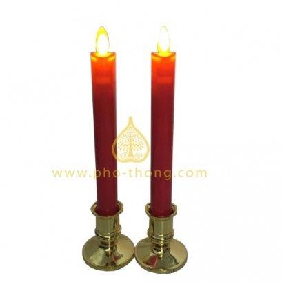 เชิงเทียนไฟฟ้า(LED) ฐานทอง / LED swing electronic candles