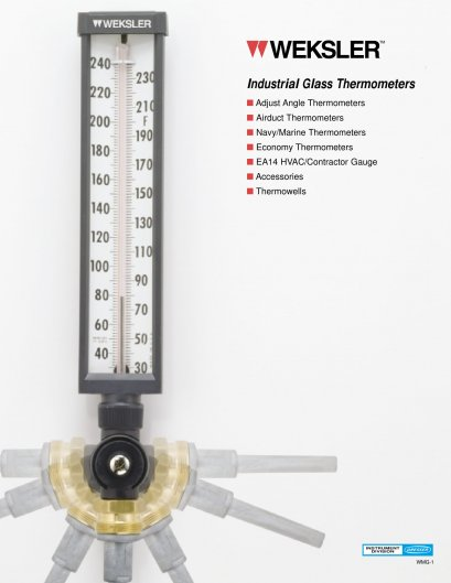 WEKSLER THERMOMETER
